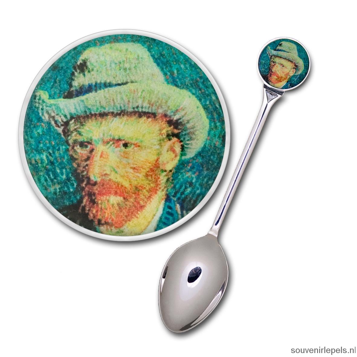 Lepel Vincent van Gogh - Selfportrait with grey felt hat